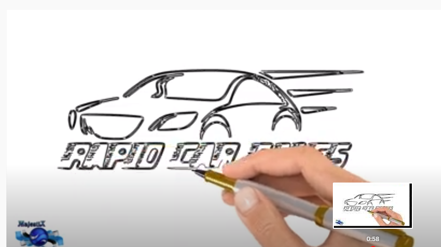 Let us create a drawing of your logo video