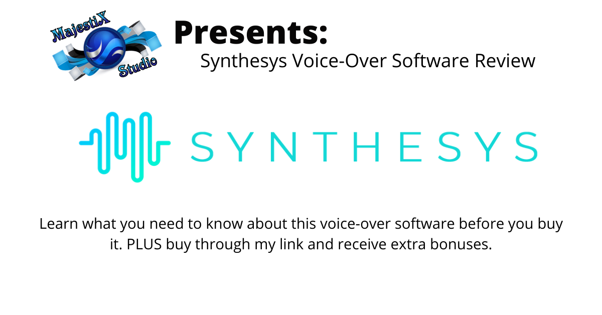 Voice over software review on MajetiX Studio