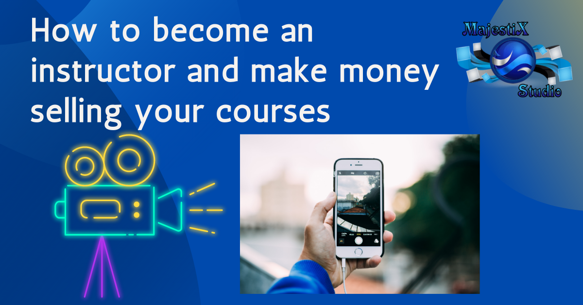 Sell your courses online to make money