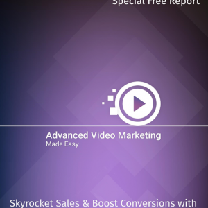 Free Advance Video Marketing Report